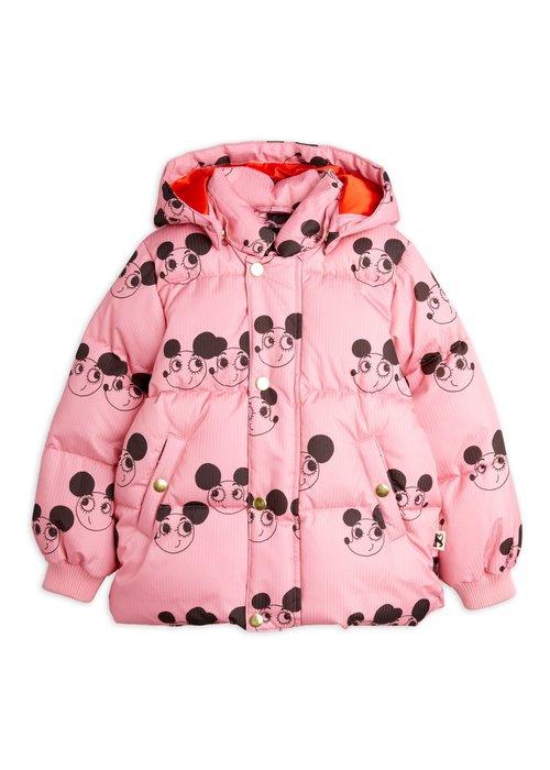 Mini Rodini Mini Rodini Ritzratz puffer jacket Pink