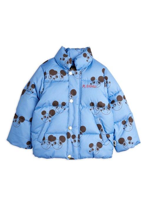 Mini Rodini Mini Rodini Ritzratz puffer jacket Blue