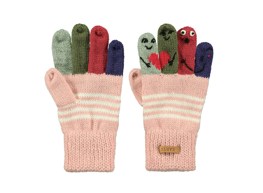 Barts Puppet Gloves Dusty Pink