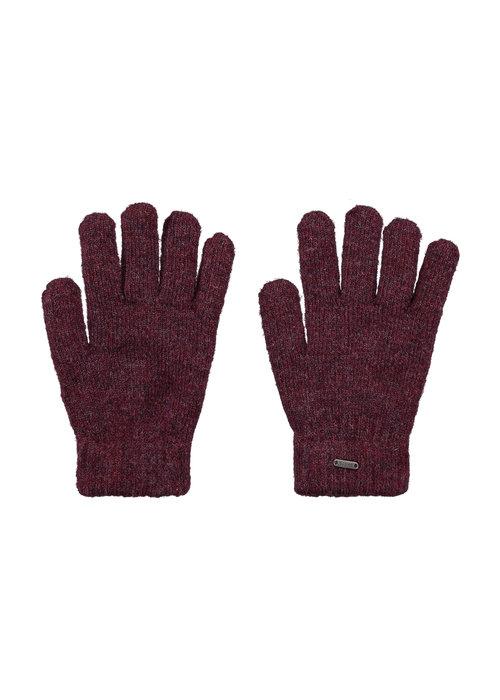 Barts Barts Shae Gloves Burgundy