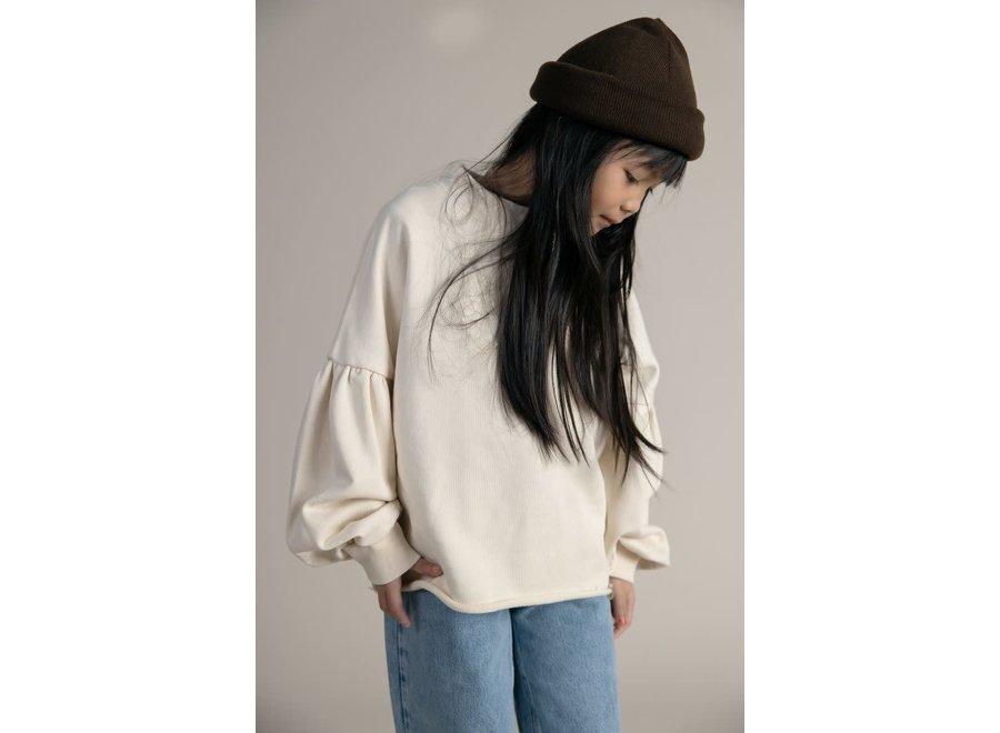 I Dig Denim Filli Sweater Organic Offwhite