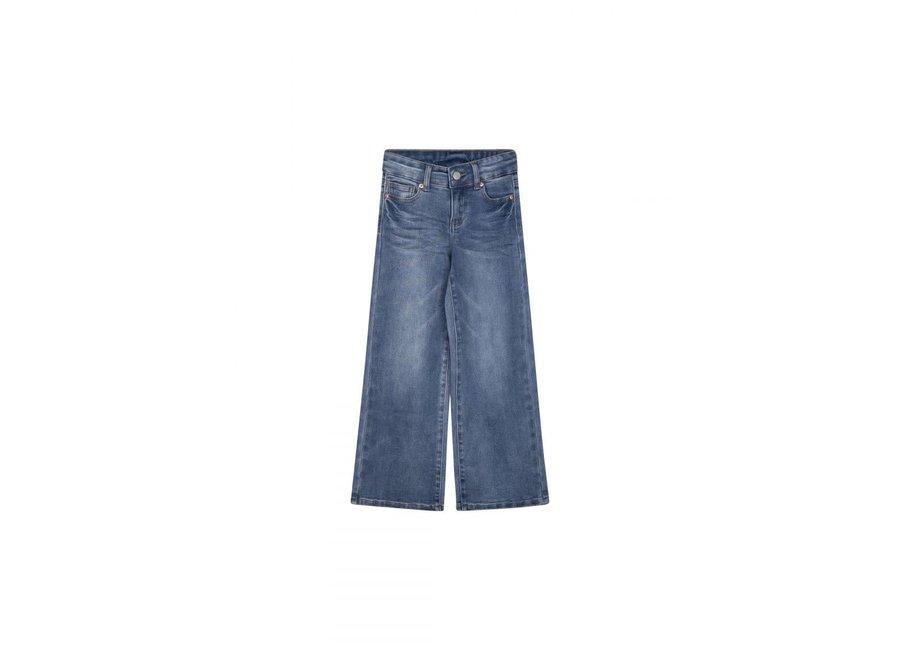 I Dig Denim Harper Wide Jeans Organic Blue