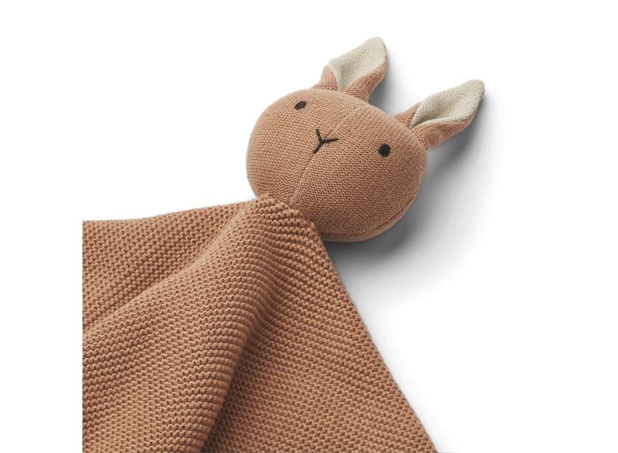 Liewood Milo Knit Cuddle Cloth Rabbit Tuscany Rose