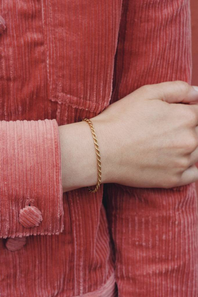 Jukserei Jukserei Bracelet Rope Gold