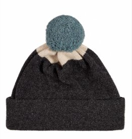 Jo Gordon Pompom Hat Gray