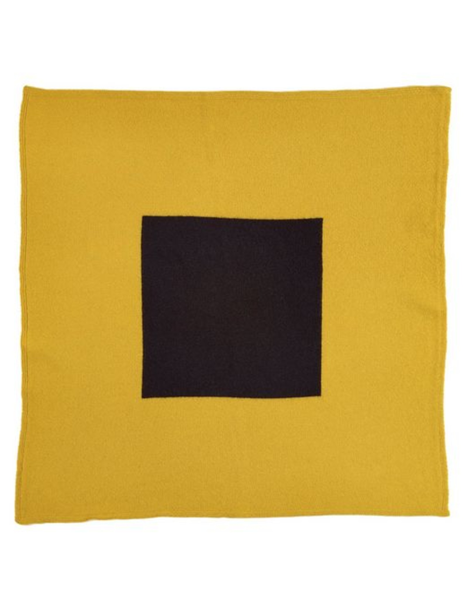 Jo Gordon Jo Gordon Scarf Square in Square Yellow/Black