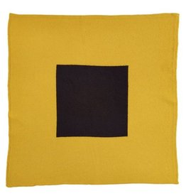 Jo Gordon Scarf Square in Square Yellow/Black