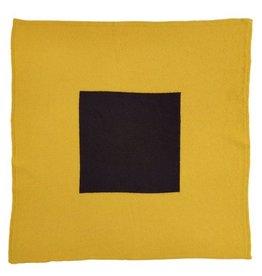 Jo Gordon Scarf Square in Square Yellow/Black