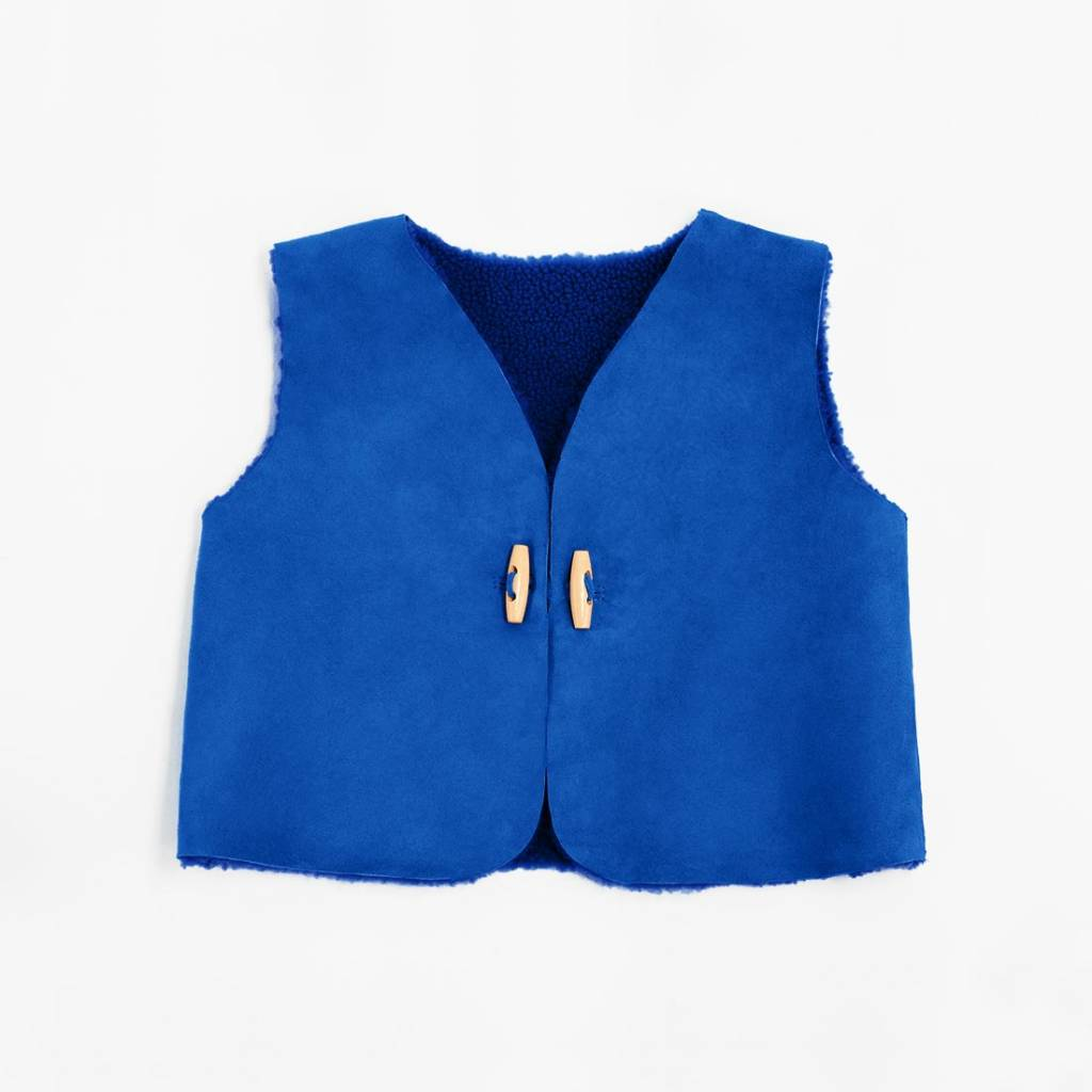 Toasties Toasties Kids Vest Blue