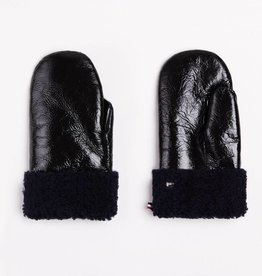 Toasties Mittens Shine Black