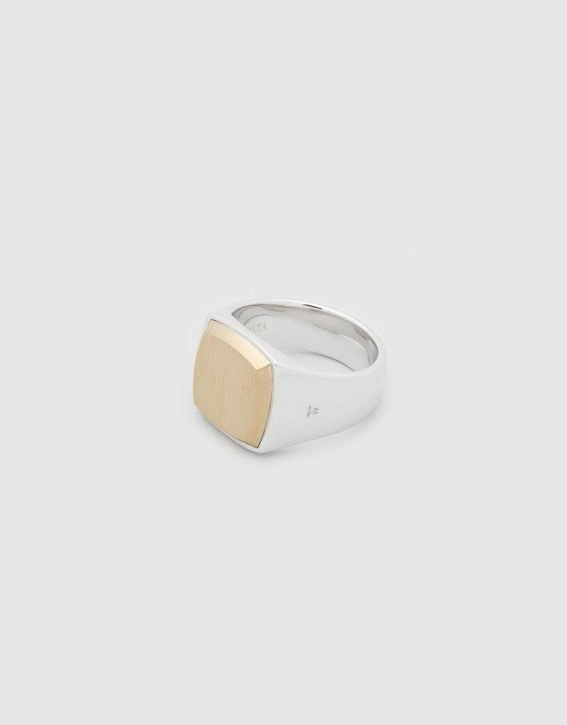 Tom Wood Tom Wood Ring Cushion Gold Top (RCGT)