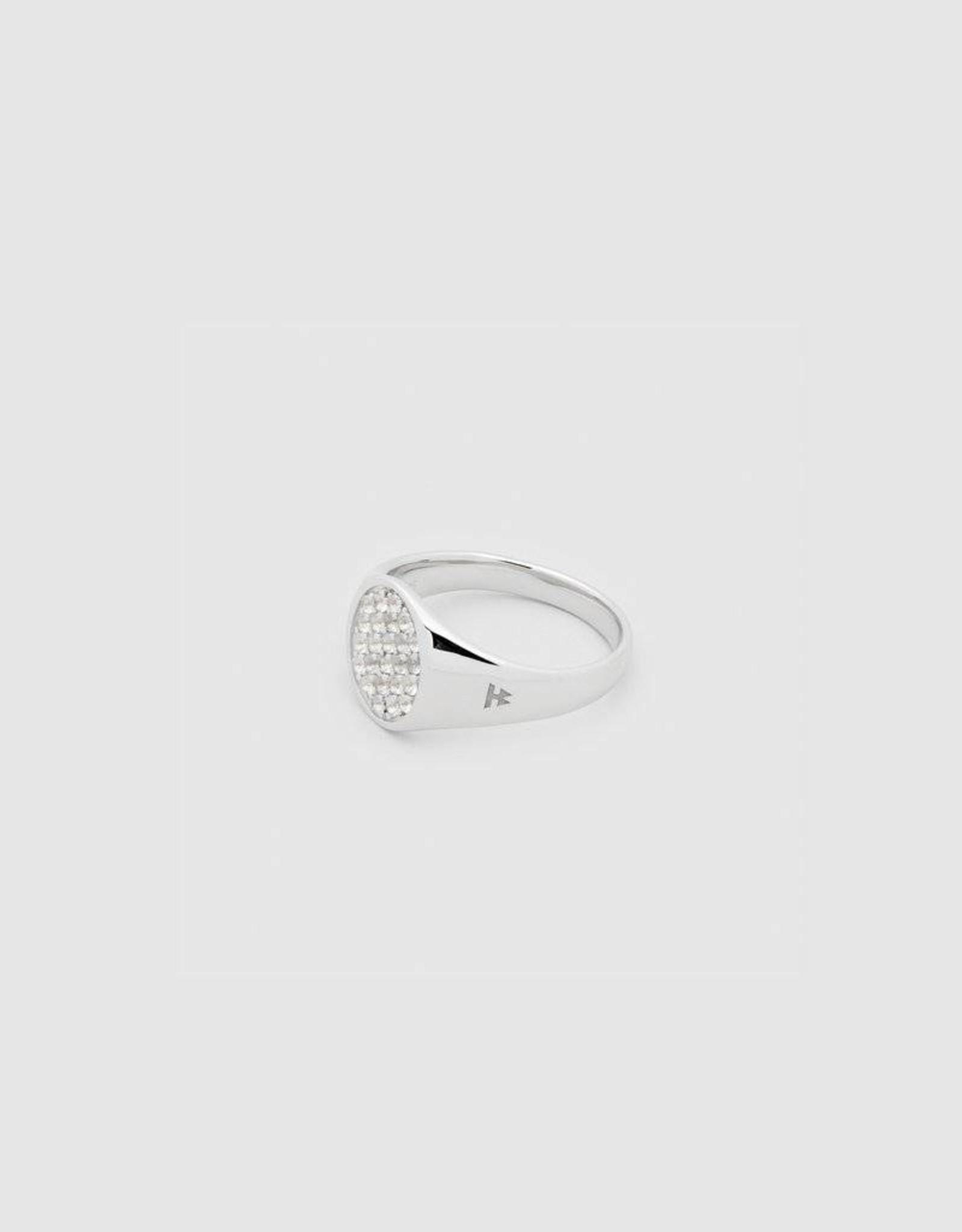 Tom Wood Tom Wood Ring Mini Oval White Topaz (RMOWT)
