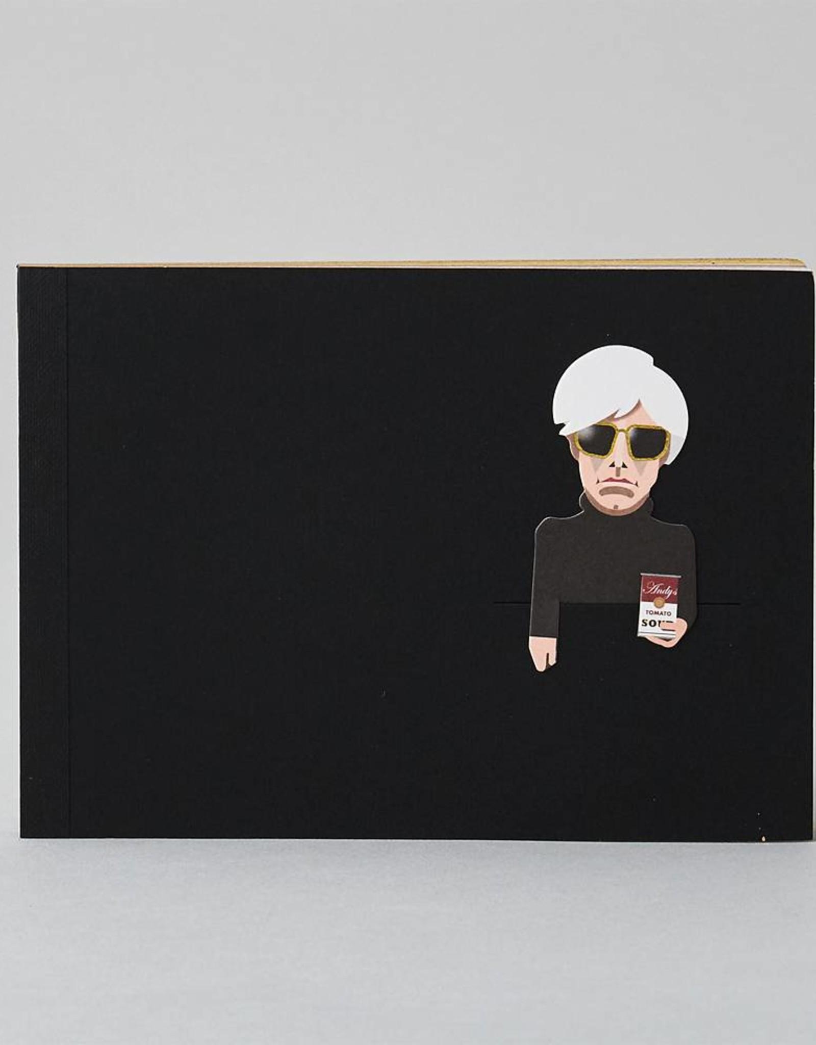 Noodoll Noodoll Pocket Sketchbook Gold Pop Artist