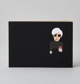 Noodoll Pocket Sketchbook Gold Pop Artist