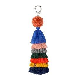 Verloop knits Bag charm Multi