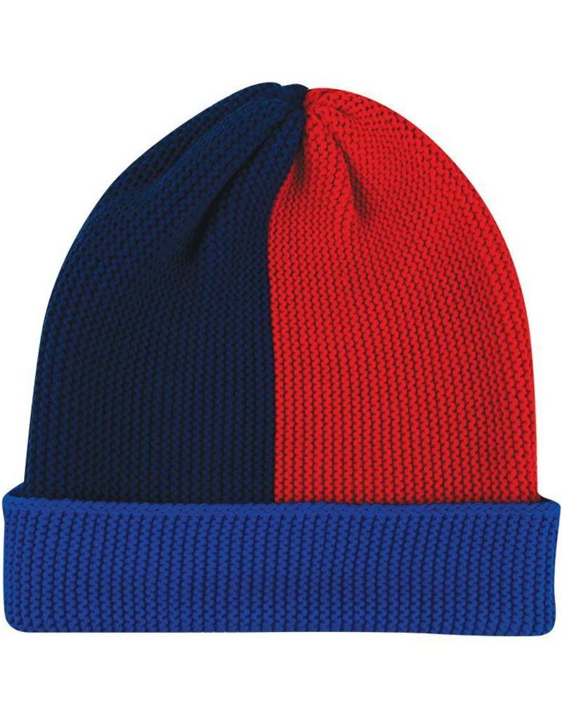 Verloop knits Polder hat cobalt navy
