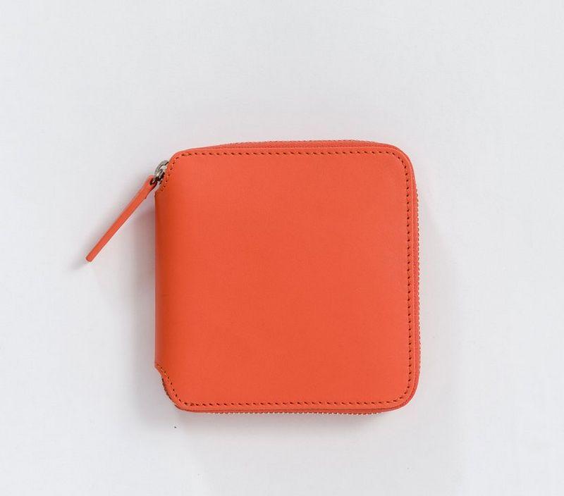 Baggu Square Wallet Warm Red