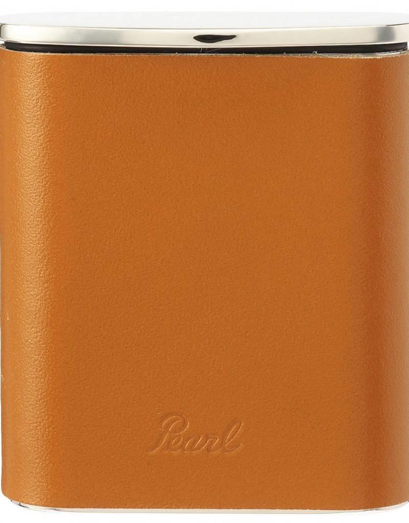 Tsubota Pearl Pocket Ashtray Leather Camel