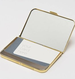 Tsubota Pearl Card Holder Gold