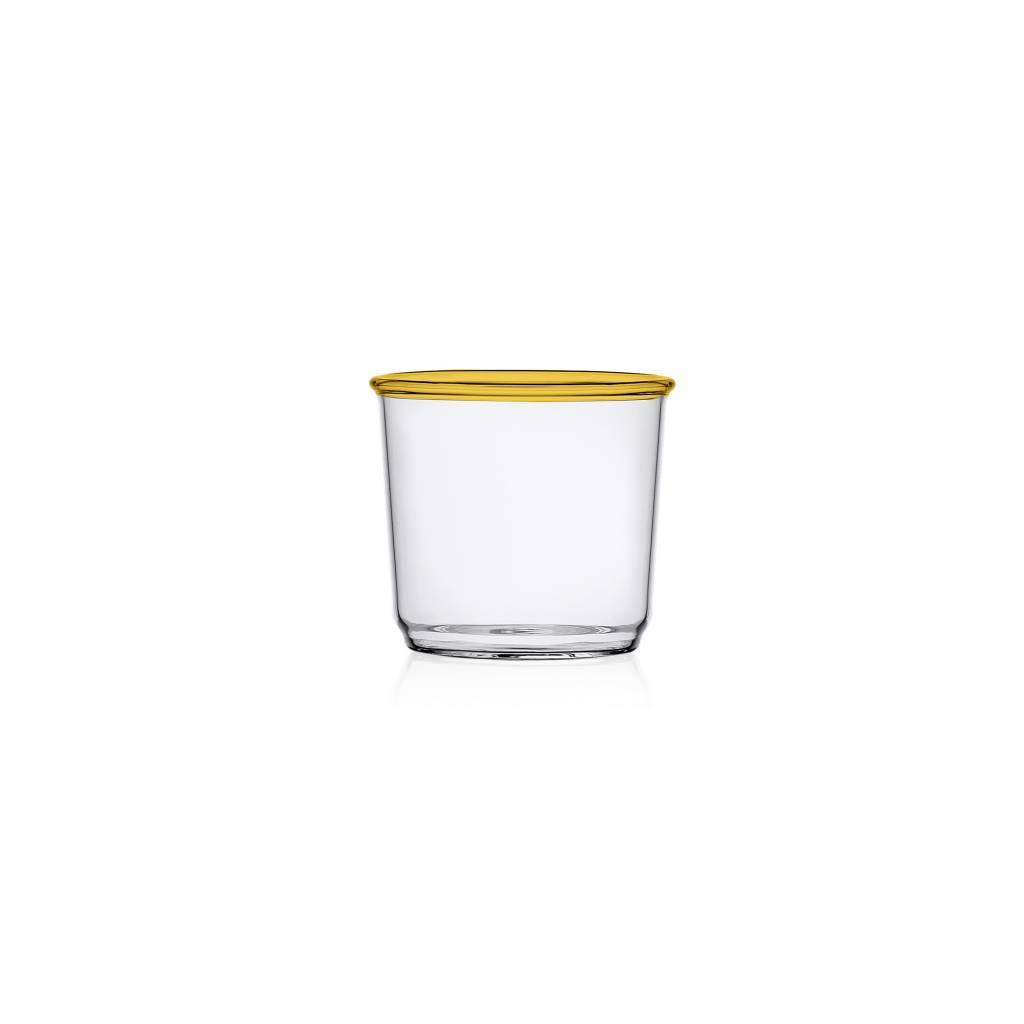Ichendorf Sorsi Water Glass Amber