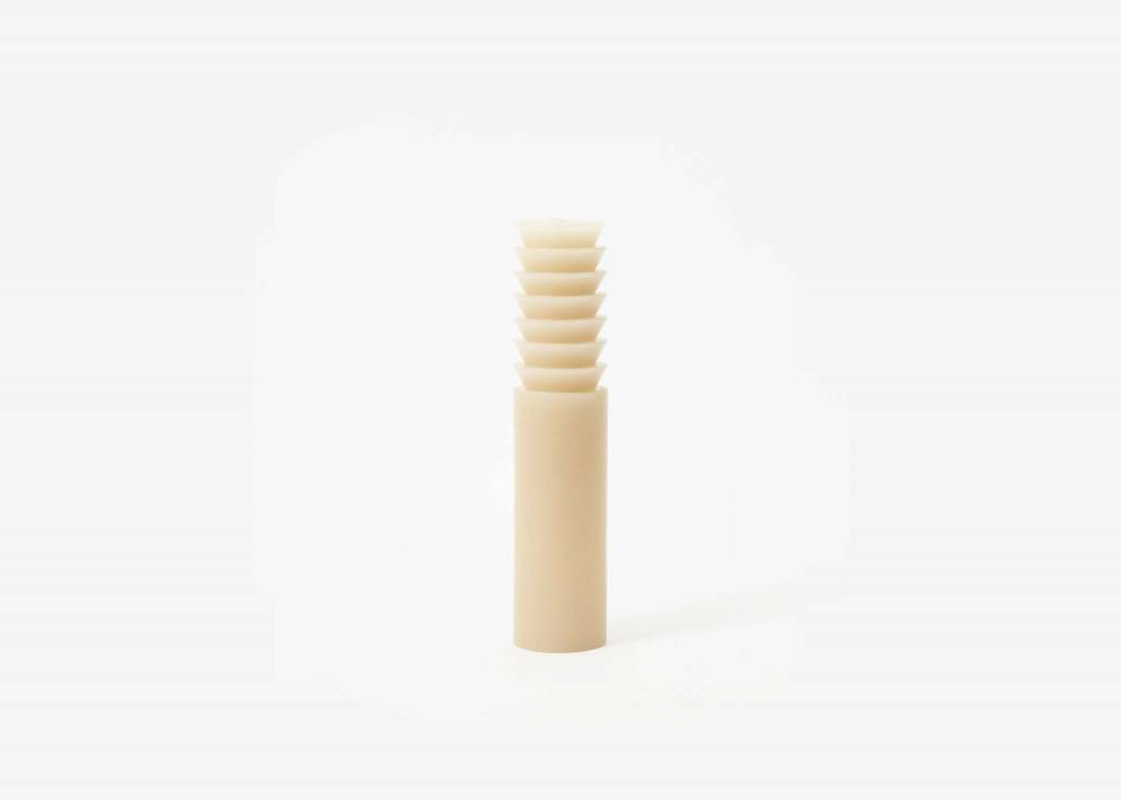Areaware Totem Candle Step Large Sand