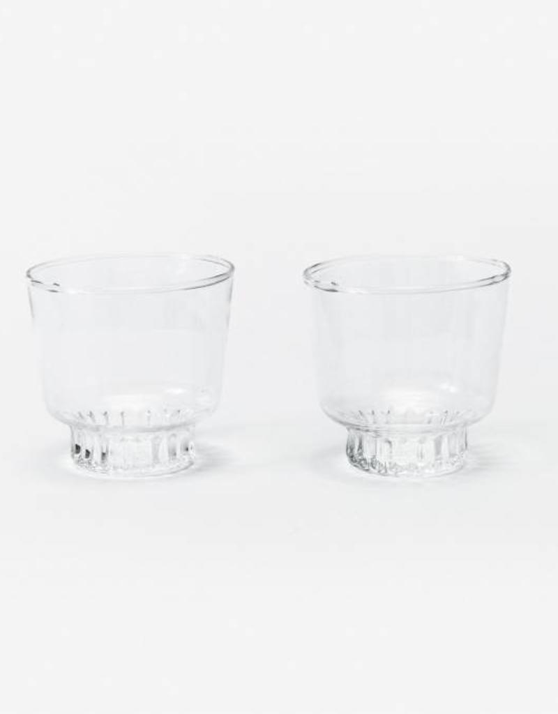 Areaware Kitchen Glasses Clear