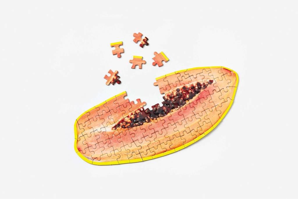 Areaware Puzzle papaya