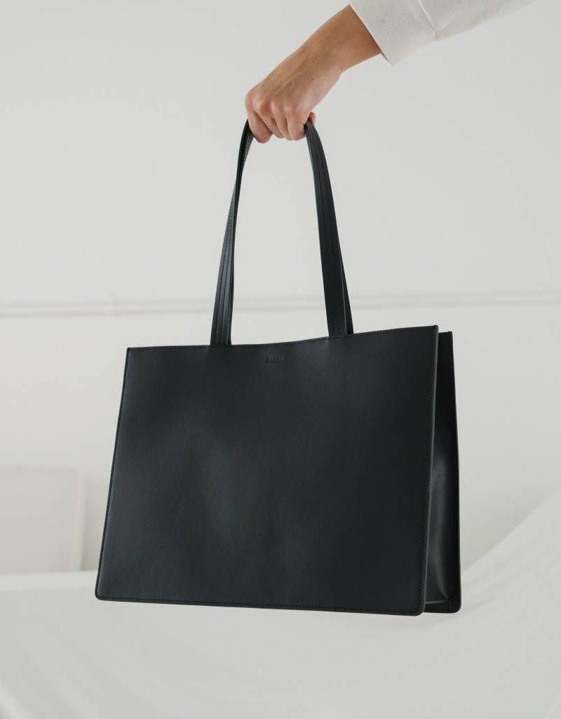 Baggu Large Leather Retail Tote