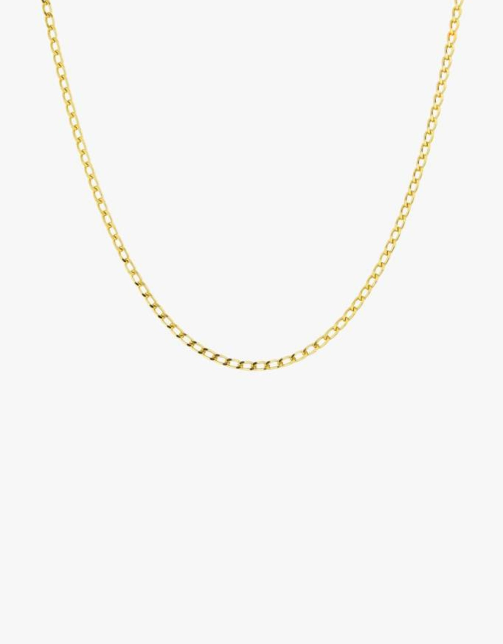 Wildthings Collectables Medium oval gold necklace