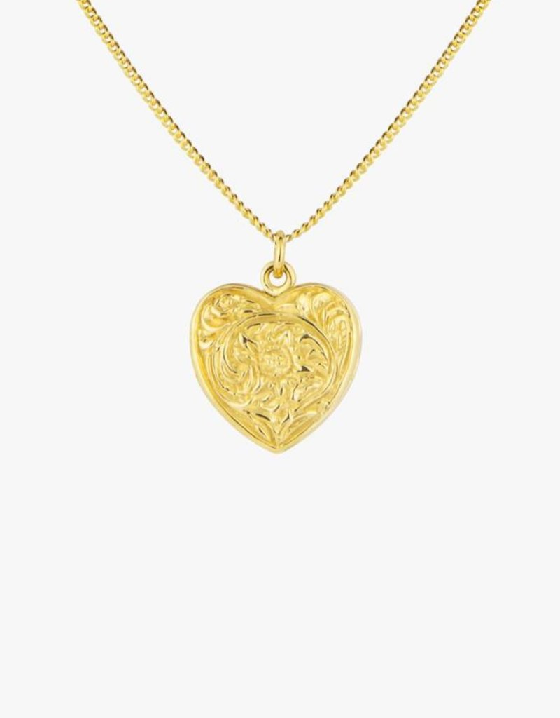 Wildthings Collectables Heart Locket Gold