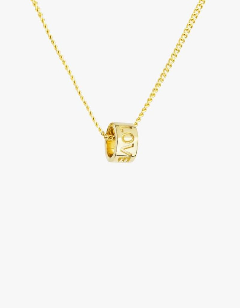 Wildthings Collectables Love dream necklace gold