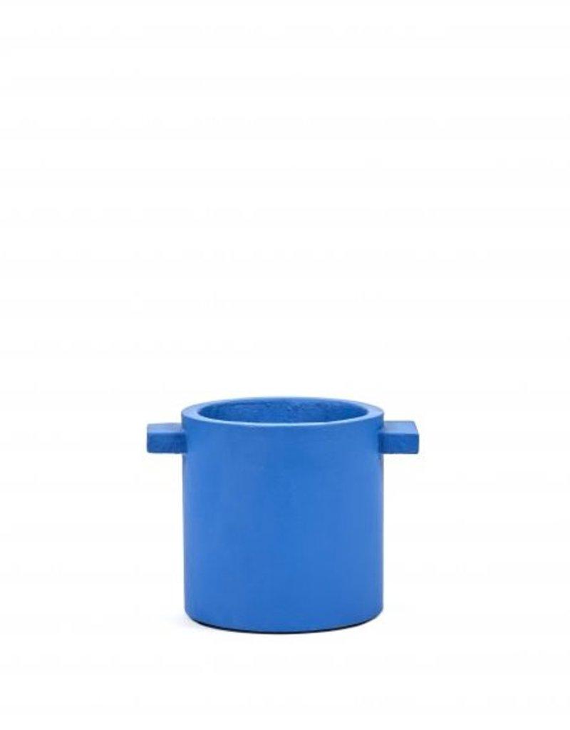 Serax Serax Flowerpot Blue Medium
