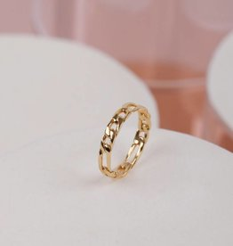 Jukserei Ring Ave Gold Small