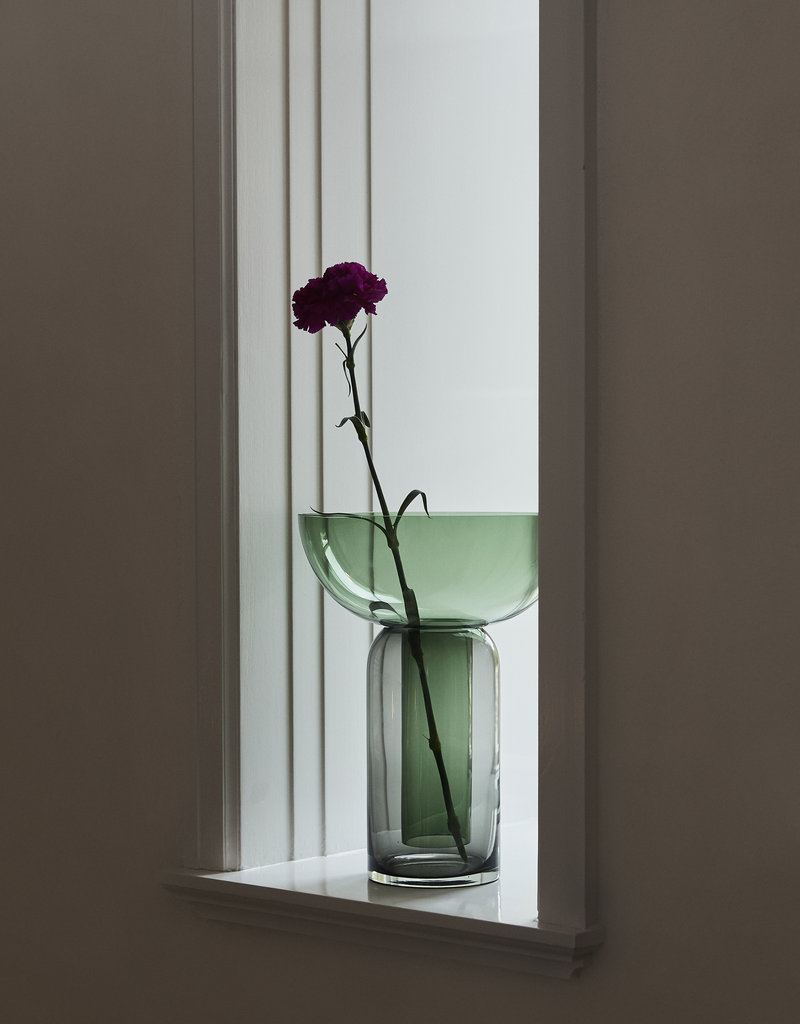 AYTM Torus vase Black/Forest