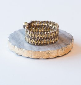 Zenza Bracelet Double Hearts