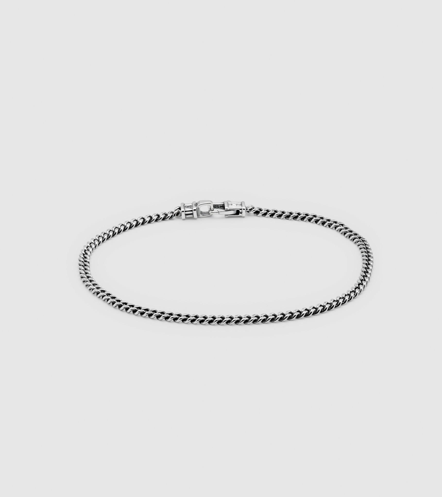 Tom Wood Tom Wood Bracelet Curb M (BCM) Size Medium