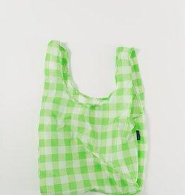 Baggu Standard bag check lime