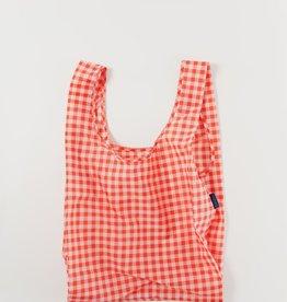 Baggu Reusable bag Gingham red