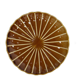 HK Living Kyoto striped dessert plate