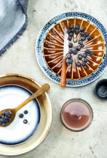 HK Living Kyoto striped dessert plate