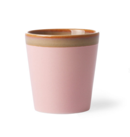 HK Living Ceramic 70's mug pink