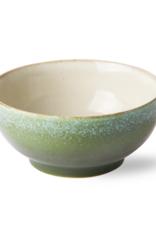 HK Living Ceramic 70's salade bowl M grass