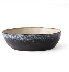 HK Living Ceramic 70's pasta bowl Galaxy