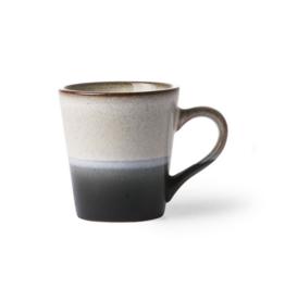 HK Living Ceramic 70's espresso mug rock