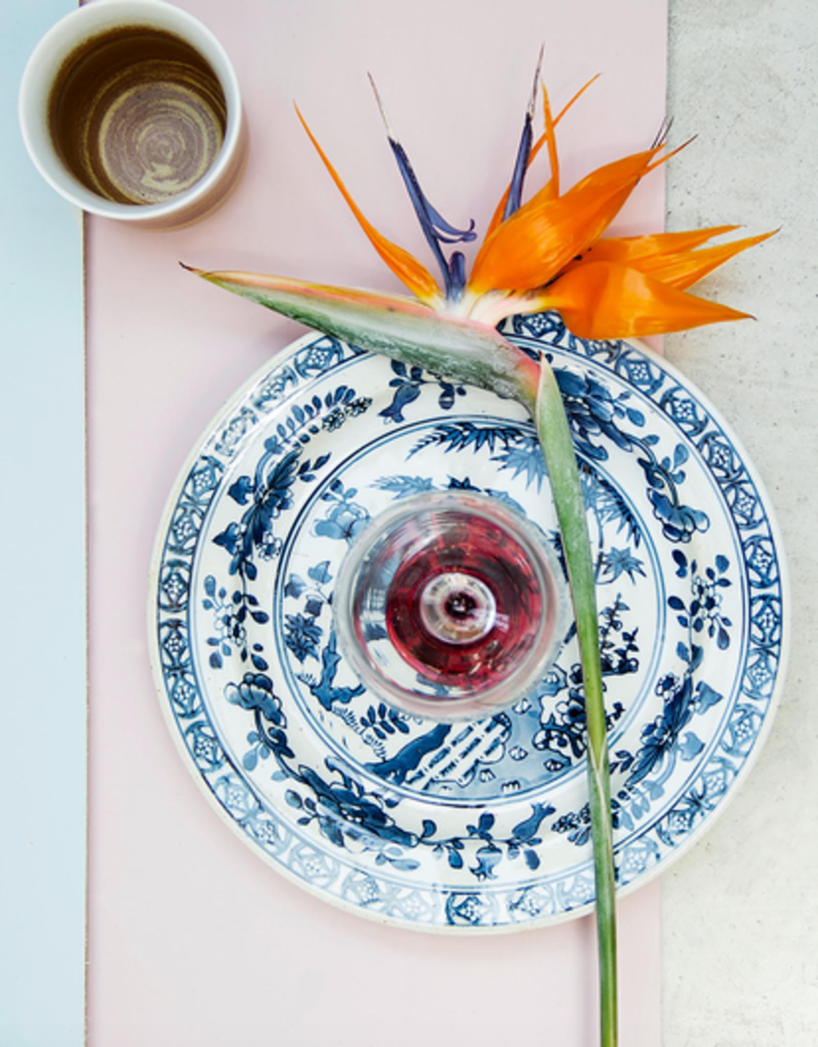HK Living Kyoto ceramics handpainted plate