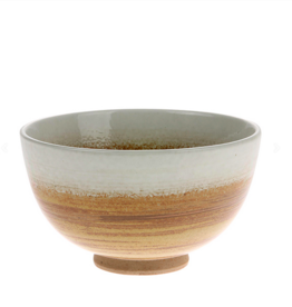 HK Living Kyoto Ceramics Bowl brown/white
