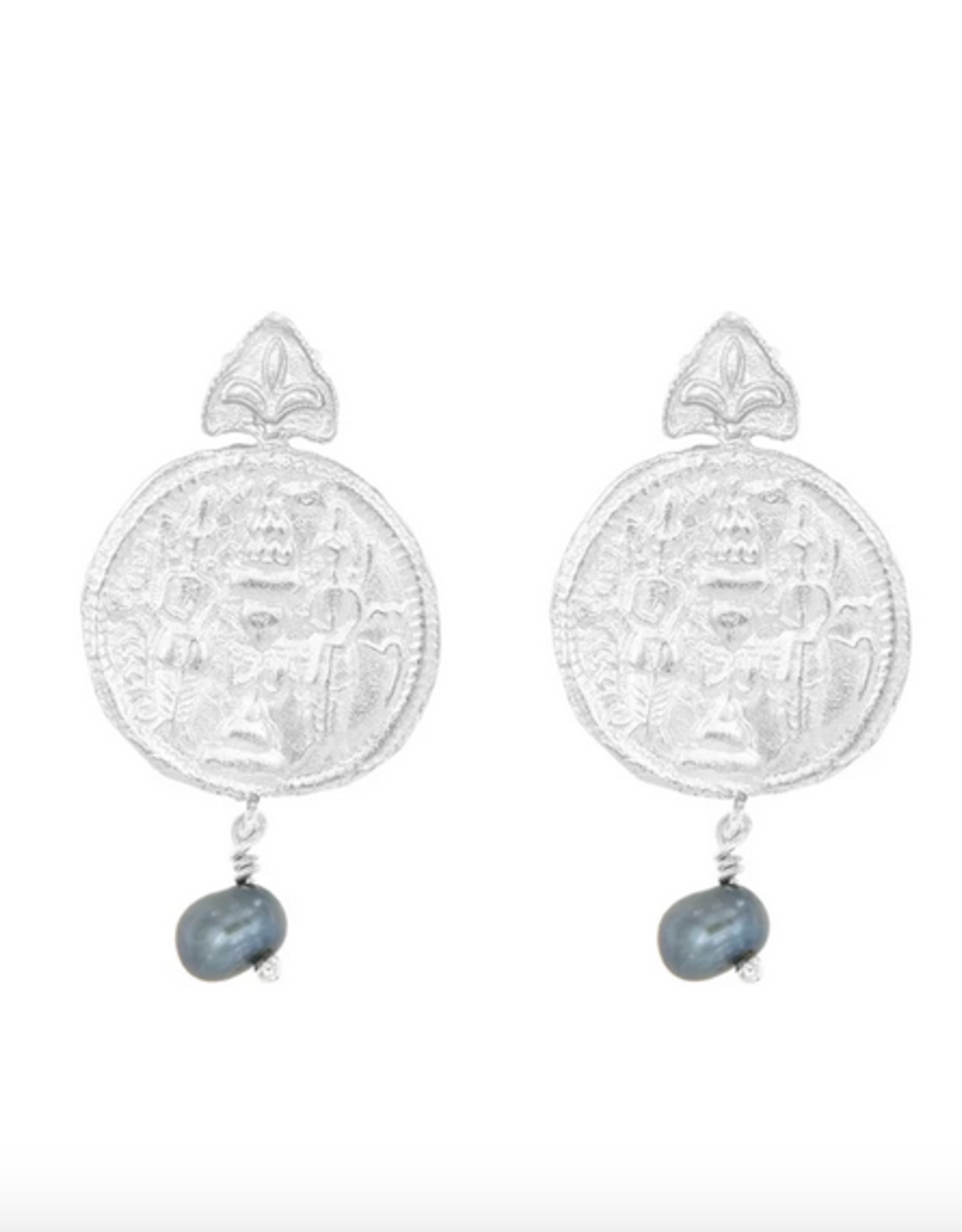 Cleopatra's Bling Cleopatra's Bling Daria earrings silver