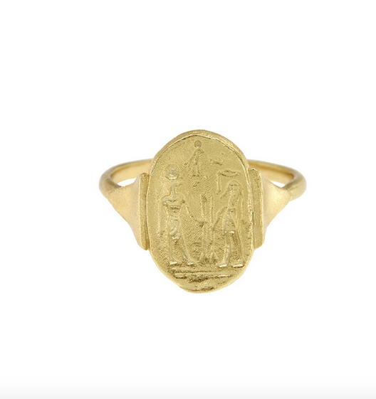 Cleopatra's Bling Cleopatra's bling Kemet Ring Gold