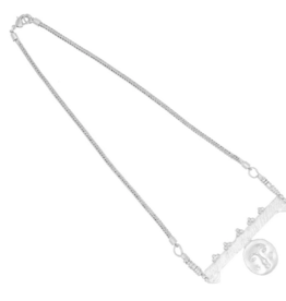 Cleopatra's Bling Cleopatra's bling Moon face charm necklace silver