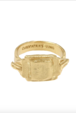 Cleopatra's Bling Cleopatra's bling Signet ring Gold
